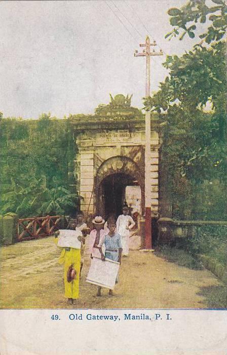 Old Gateway, Manila, Philippine Islands, 00-10s
