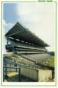 ireland, DUBLIN, Croke Park (1980s) Stadium Postcard