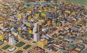 Missouri St Louis Aerial View 1953