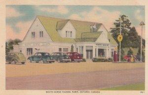 PARIS , Ontario , Canada , 1930-40s ; White Horse Tavern