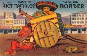 Hot Tamales Mexico Tarjeta Postal Unused