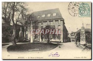 Old Postcard Rouen Museum of Antiquities