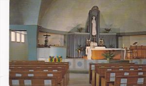 L'Interieur De La Chapelle Mariale,  Lac Bouchette,  Cte Roberval,  Quebec,  ...