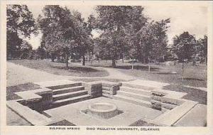 Delaware Ohio Wesleyan University Sulphur Springs Albertype