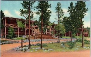 ROCKY MOUNTAIN NATIONAL PARK, Colorado  CO   GRAND LAKE LODGE c1940s   Postcard