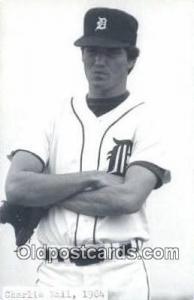 Charlie Nail Base Ball Postcard Detroit Tigers Baseball Postcard Post Card  C...