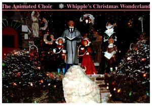 Connecticut , Dayville , Whipple's Christmas Wonderland ,  Animated Choir