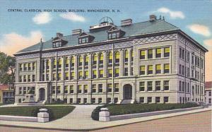 New Hampshire Manchester Central Classical High School Building