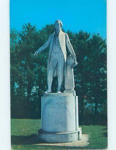 Unused Pre-1980 MONUMENT SCENE Charlottesville Virginia VA F1989