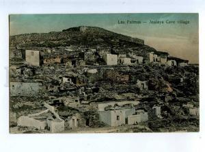 213802 SPAIN CANARY LAS PALMAS Atalaya Cave village Vintage