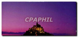 Postcard Modern Colors and light of France Wonder of the West The Mont Saint ...