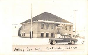 Real Photo Valley County Cascade  Idaho  Antique Postcard L2700