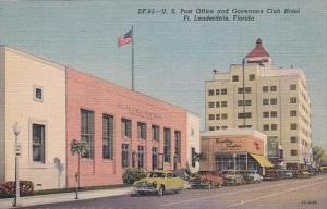Florida Ft Lauderdale Post Office &  Governors Club Hotel