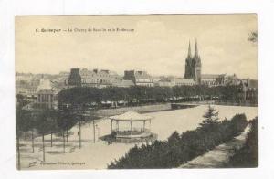 Le Champ De Bataille Et La Prefecture, Quimper (Finistère), France, 00-10s