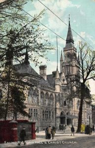 Ealing Victoria Hall & Christ Church Street Postcard