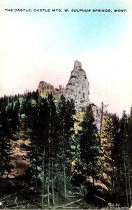 Montana West Sulphur Springs Castle Mountains Castle Rock
