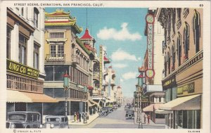 California San Francisco Chinatown Street Scene sk5128