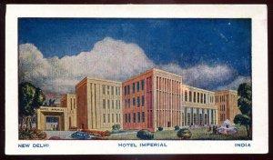 dc1861 - INDIA New Delhi Postcard 1930s Hotel Imperial