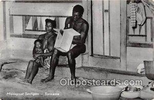 Middagrust Santigron Suriname 1969