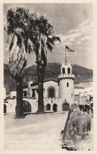RPPC Scotty's Castle - Death Valley CA, California