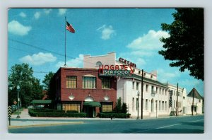 Washington DC, Hogates Seafood, Restaurant, Chrome Postcard