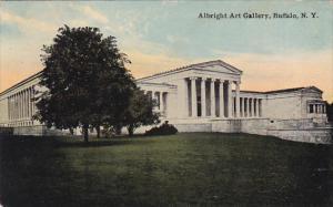 New York Buffalo Albright Art Gallery 1910