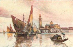 Italy Venezia isola di s giorgio Postcard