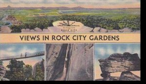 Tennessee Rock City Views In Rock City Gardens