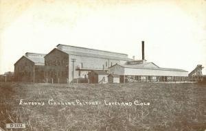 Loveland Colorado~Empson's (Later Kuner) Vegetable Canning Factory~Fields c1910