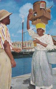 Barbados Bridgetown Native Mauby Woman