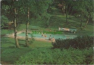 Staffordshire Postcard - Silvertrees Caravan & Chalet Park, Rugeley   RR10389