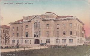 New York Syracuse Gymnasium Syracuse University 1928 Handcolored Albertype