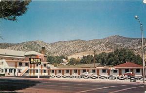 Ely Nevada~Park Vue Motel~Aultman Street~1970s Cars~Postcard