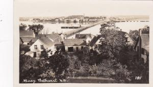 RP: BATHURST ,N.B., Canada, 1910s ; Rooftop View