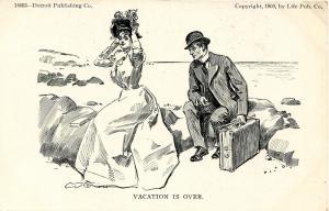 Vacation is over   Artist: Charles Dana Gibson       (Romance)