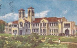 Philippines Manila The Government Laboratories 1912 Tucks