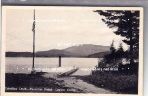 RPPC, Landing Dock, Legion Camp, Tupper Lake NY