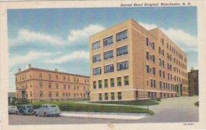 New Hampshire Manchester Sacred Heart Hospital Curteich