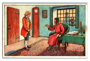 Escapes from Boring Life, Robinson Crusoe, Echte Wagner German Trade Card *VT31P