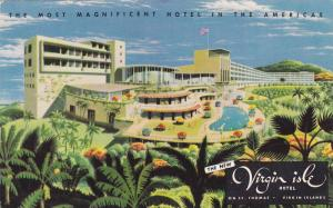 New Virgin Isle, Most magnificent hotel in the Americas, St. Thomas, U.S. Vir...