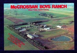SD View McCrossan Boys Ranch SIOUX FALLS SOUTH DAKOTA Postcard