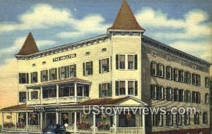 The Hotel Moulton in Lisbon, New Hampshire
