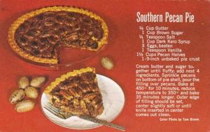 Recipe Card Southern Pecan Pie