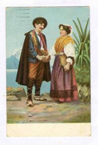 Couple, Naples, Italy, PU-1912