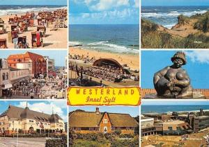 Westerland Insel Sylt, Spielcasino, Strandleben, Pavillon, Duene, Wilhelmine