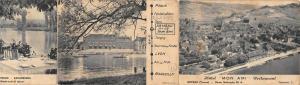 Br45129 Armeau Yonne Hotel Mon ami Restaurant Depliant 6 Images Format Carte pos