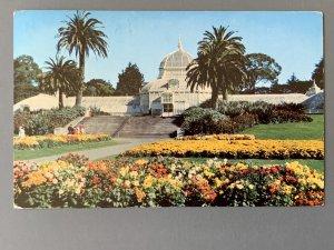 Conservatory Of Flowers Golden Gate Park SF CA Chrome Postcard A1173090622