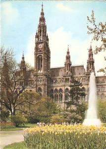 Postal 022023 : The town Hall, Vienna