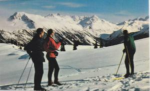 Whistler Mountain, Standing At The Upper Terminal Of The Chairlift, Garibaldi...
