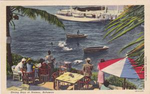 NASSAU, Bahamas, 1930-1940's; Diving Boys, Row Boats
